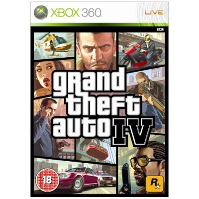Grand Theft Auto IV - GTA 4, Xbox 360 -peli