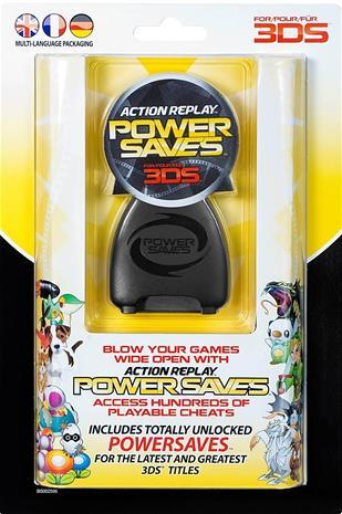 Action Replay Powersaves 3DS, Nintendo 3DS -peli