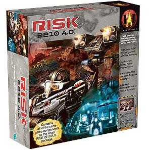Risk 2210 A.D., lautapeli