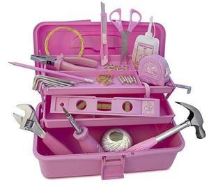 Pinkki työkalusarja