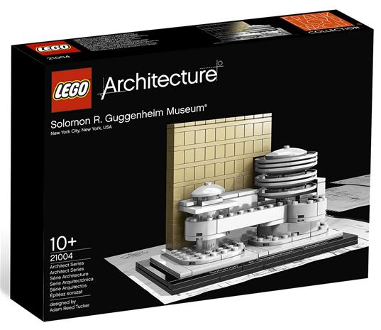 Lego Architecture 21035, Guggenheimin museo