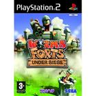 Worms Forts - Under Siege, PS2-peli