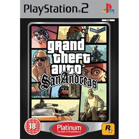 Grand Theft Auto (GTA): San Andreas, PS2-peli