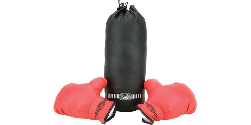 Nyrkkeilysäkki ja -hanskat, lasten