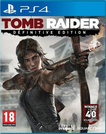 Tomb Raider - Definitive Edition, PS4-peli