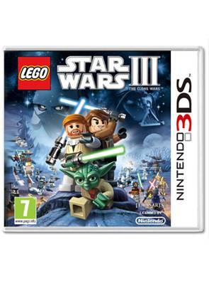 Lego Star Wars III (3) The Clone Wars, Nintendo 3DS -peli