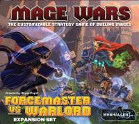 Mage Wars: Forcemaster vs. Warlord Expansion, lautapeli