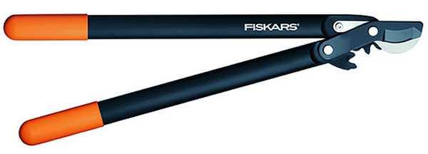 Fiskars PowerGear 112290 (L74), raivaussakset M, koukkuterä