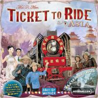 Menolippu Aasia (Ticket to ride Asia) LAUTA