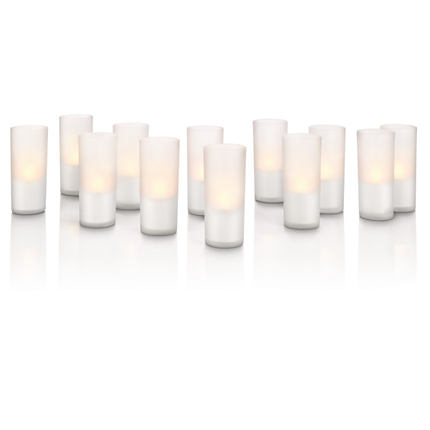 Philips CandleLights 69133/60/PH, ladattavat led-kynttilät 12 kpl