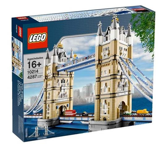 Lego Creator 10214, Tower Bridge