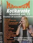 Magnum Iskelmä Kotikaraoke vol. 13, karaoke-dvd
