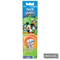 Braun Oral-B Stages Power Kids (Frozen/Cars/Mickey/Star Wars/Princess/Avengers), vaihtoharjat 2 kpl