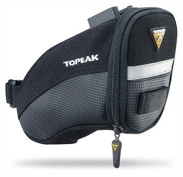 Topeak Aero Wedge Pack Satulalaukku musta