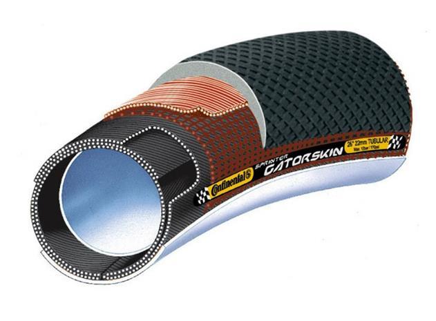 Continental Sprinter Gatorskin Tuubirengas 28 tuumaa x 22 mm