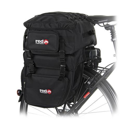 Red Cycling Products Grand Touring Pyörälaukku musta