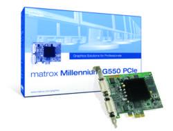 Matrox G550 32 MB, PCI-E, näytönohjain