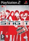 Disney Sing It High School Musical, PS2-peli