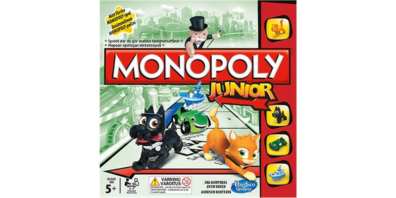 Monopoly Junior, lautapeli