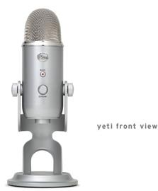 Blue Microphones Yeti, USB-mikrofoni