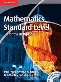 Mathematics for the IB Diploma Standard Level with CD-ROM, kirja