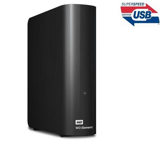 Western Digital WD Elements (3 TB, USB 3.0) WDBWLG0030HBK, ulkoinen kovalevy
