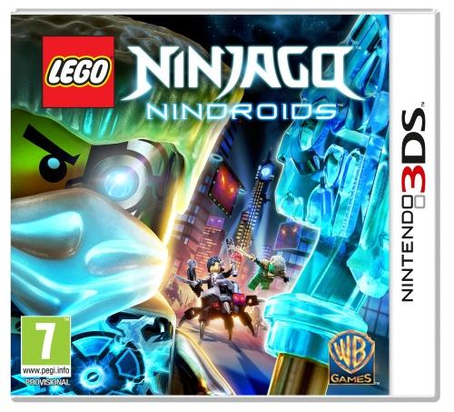 Lego Ninjago: Nindroids, PS Vita -peli