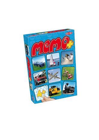 Tactic - Memo+ ajoneuvot muistipelikortit