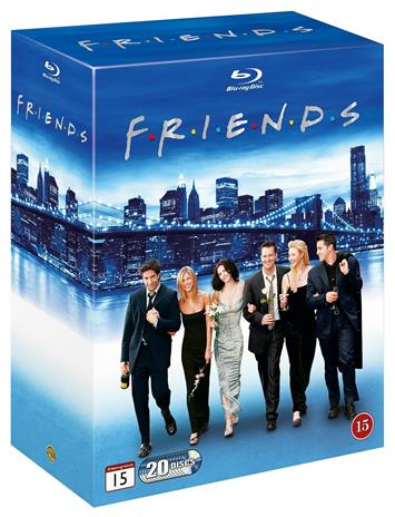 Frendit (Friends): Koko sarja (Kaudet 1-10, Blu-Ray), TV-sarja