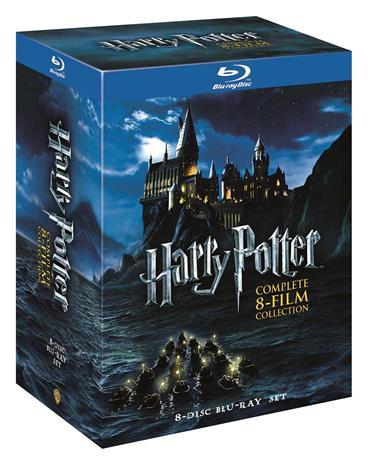 Harry Potter elokuvat 1-8 (Blu-Ray), elokuva