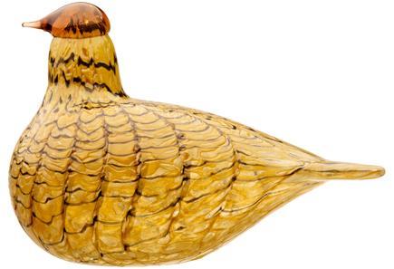 Iittala Birds by Toikka Kesäriekko, lasilintu 110 x 150 mm