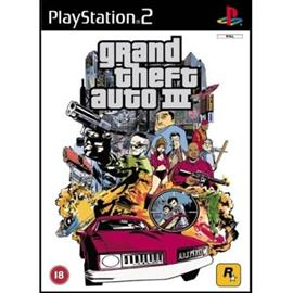Grand Theft Auto 3 - GTA 3, PS2-peli
