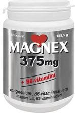 Magnex 375 mg + B6-vitamiini