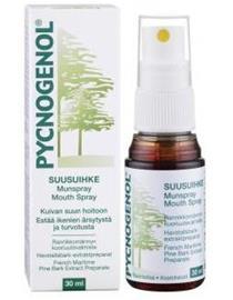 Pycnogenol suusuihke - kuivalle suulle