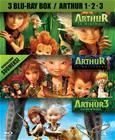 Arthur 1-3 (Arthur ja Maltazard + Arthur ja kaksi maailmaa + Arthur ja minimoit, Blu-Ray), elokuva