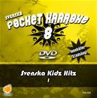 Svenska Pocket Karaoke 8 - Svenska Kidz Hits 1, karaoke-dvd