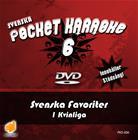 Svenska Pocket Karaoke 6 - Svenska Favoriter 1 Kvinnliga, karaoke-dvd