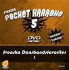 Svenska Pocket Karaoke 5 - Svenska Dansbandsfavoriter, karaoke-dvd