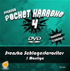 Svenska Pocket Karaoke 4 - Svenska Schlagerfavoriter 1 Manliga, karaoke-dvd