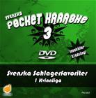 Svenska Pocket Karaoke 3 - Svenska Schlagerfavoriter 1 Kvinnliga, karaoke-dvd
