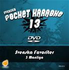 Svenska Pocket Karaoke 13 - Svenska Favoriter 3 Manliga, karaoke-dvd