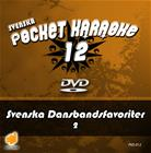 Svenska Pocket Karaoke 12 - Svenska Dansbandsfavoriter 2, karaoke-dvd