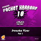 Svenska Pocket Karaoke 10 - Svenska Visor 1, karaoke-dvd