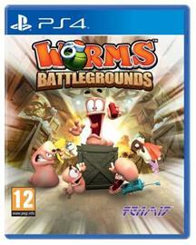 Worms Battlegrounds, PS4-peli