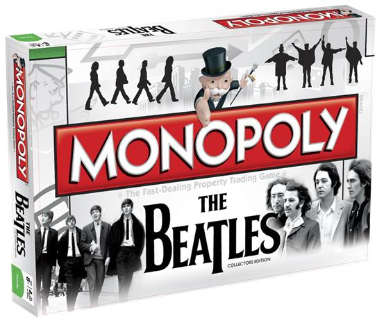 Monopoly The Beatles, lautapeli EN