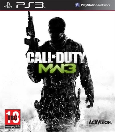 Call of Duty: Modern Warfare 3, PS3-peli