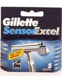 Gillette Sensor Excel, vaihtoterät 5 kpl