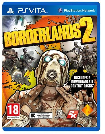 Borderlands 2, PS Vita -peli