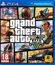 Grand Theft Auto V (GTA 5), PS4-peli
