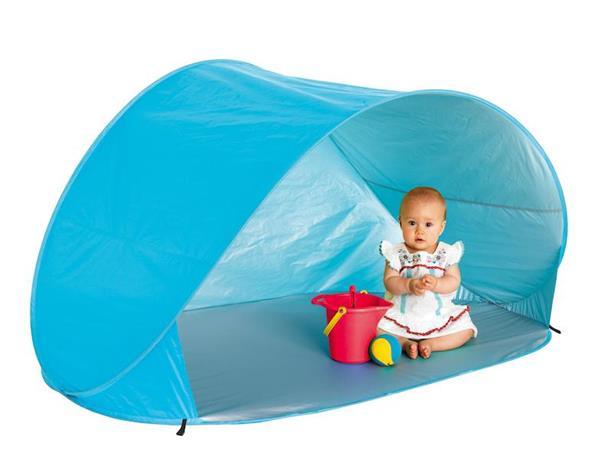 Swimpy, UV-teltta säilytyspussissa